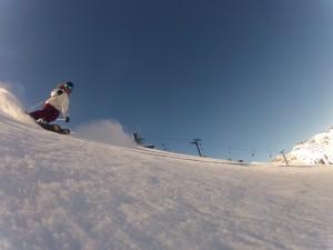 Alta Groomer Skiing